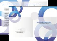 faire modele a imprimer depliant 2 volets  4 pages  texture contexture structure MIF27243