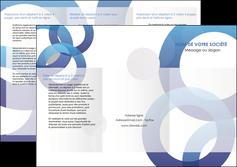 Commander Dépliant  modèle graphique pour devis d'imprimeur Dépliant 6 pages Pli roulé DL - Portrait (10x21cm lorsque fermé)