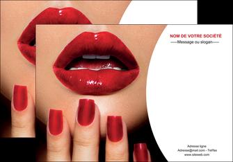 creation graphique en ligne affiche centre esthetique  ongles vernis vernis a ongles MLGI27361