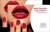 exemple carte de visite centre esthetique  ongles vernis vernis a ongles MLIP27375