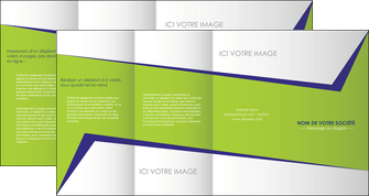 imprimer depliant 4 volets  8 pages  texture contexture structure MIF27379
