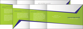 faire depliant 4 volets  8 pages  texture contexture structure MIF27381