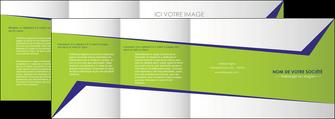 faire depliant 4 volets  8 pages  texture contexture structure MLIGBE27381