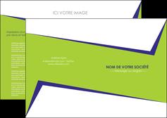 modele depliant 2 volets  4 pages  texture contexture structure MIF27387