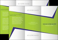 creer modele en ligne depliant 3 volets  6 pages  texture contexture structure MIF27393