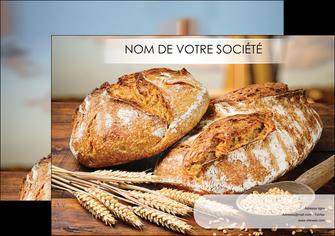 exemple affiche sandwicherie et fast food boulangerie boulanger boulange MIF27443