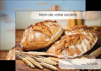 faire flyers sandwicherie et fast food boulangerie boulanger boulange MIF27445