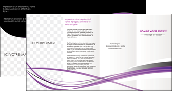 modele en ligne depliant 4 volets  8 pages  textures contextures structure MLIG27473