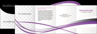 creer modele en ligne depliant 4 volets  8 pages  textures contextures structure MIF27475