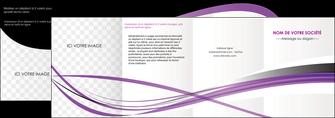personnaliser modele de depliant 4 volets  8 pages  textures contextures structure MIF27477