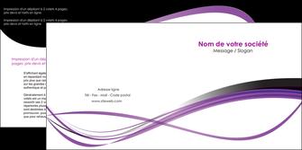 imprimer depliant 2 volets  4 pages  textures contextures structure MIF27495