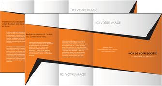 cree depliant 4 volets  8 pages  textures contextures structure MLIG27549
