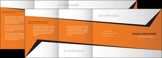 realiser depliant 4 volets  8 pages  textures contextures structure MLGI27553