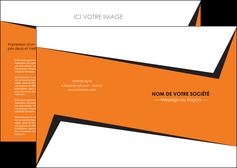 creer modele en ligne depliant 2 volets  4 pages  textures contextures structure MLIG27557