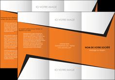 imprimerie depliant 3 volets  6 pages  textures contextures structure MIF27563