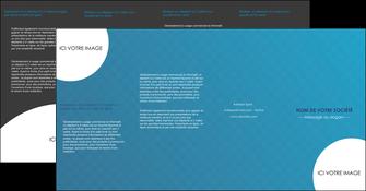 impression depliant 4 volets  8 pages  texture contexture structure MIF27589