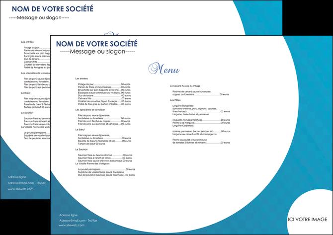 creer modele en ligne set de table restaurant menu restaurant restaurant francais MIF27597