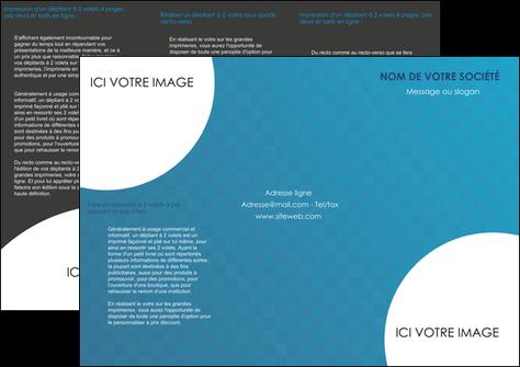 imprimerie depliant 3 volets  6 pages  texture contexture structure MLGI27605