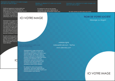 imprimerie depliant 3 volets  6 pages  texture contexture structure MLIG27605