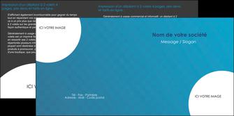 personnaliser maquette depliant 2 volets  4 pages  texture contexture structure MIF27611