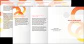 imprimerie depliant 4 volets  8 pages  texture contexture structure MLGI27639