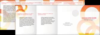 modele depliant 4 volets  8 pages  texture contexture structure MIF27645