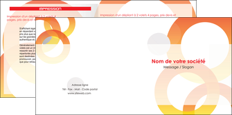 modele en ligne depliant 2 volets  4 pages  texture contexture structure MIF27661