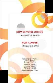 Commander model de carte de visite avec pelliculage  modèle graphique pour devis d'imprimeur Carte de visite - Portrait