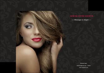 personnaliser maquette affiche centre esthetique  coiffure salon de coiffure salon de beaute MLGI27719