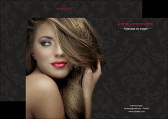 personnaliser modele de flyers centre esthetique  coiffure salon de coiffure salon de beaute MLGI27727