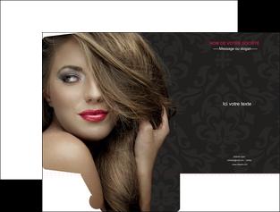 imprimer pochette a rabat centre esthetique  coiffure salon de coiffure salon de beaute MLGI27733