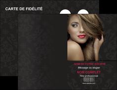 modele carte de visite centre esthetique  coiffure salon de coiffure salon de beaute MLGI27737