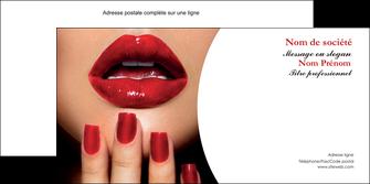 personnaliser maquette enveloppe centre esthetique  ongles vernis vernis a ongles MLGI27859