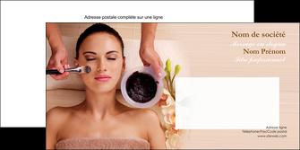 creation graphique en ligne enveloppe centre esthetique  masque masque du visage soin du visage MLGI27861