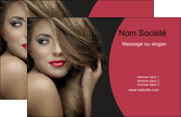 creer modele en ligne carte de visite centre esthetique  cheveux coiffure salon de coiffure MLGI27931