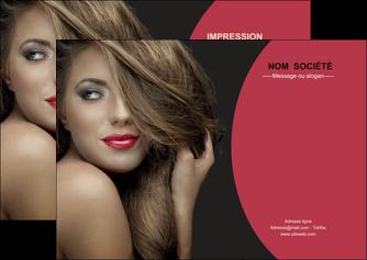 impression flyers centre esthetique  cheveux coiffure salon de coiffure MLGI27935