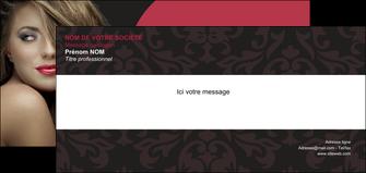 impression carte de correspondance centre esthetique  cheveux coiffure salon de coiffure MLGI27941