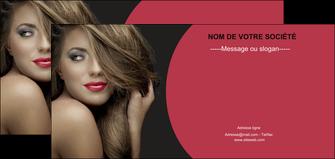 modele en ligne flyers centre esthetique  cheveux coiffure salon de coiffure MLGI27943