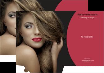 exemple pochette a rabat centre esthetique  cheveux coiffure salon de coiffure MLGI27951