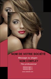 realiser carte de visite centre esthetique  cheveux coiffure salon de coiffure MLGI27953