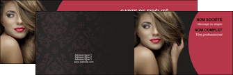 modele carte de visite centre esthetique  cheveux coiffure salon de coiffure MLGI27955