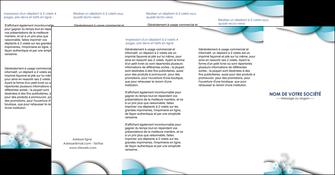 modele en ligne depliant 4 volets  8 pages  medecin texture contexture structure MLGI27963