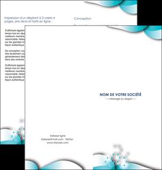 imprimerie depliant 2 volets  4 pages  medecin texture contexture structure MLIG27973