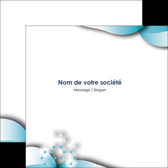Impression prospectus personnalisé Médecin prospectus-personnalise Flyers Carré 14,8 x 14,8 cm