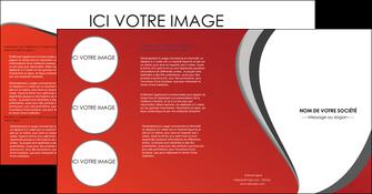 imprimer depliant 4 volets  8 pages  texture contexture structure MLIG28001