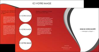 faire depliant 4 volets  8 pages  texture contexture structure MLIG28005
