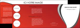 imprimerie depliant 4 volets  8 pages  texture contexture structure MLIG28007