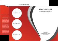 imprimerie depliant 2 volets  4 pages  texture contexture structure MLGI28011