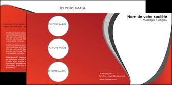 personnaliser modele de depliant 2 volets  4 pages  texture contexture structure MLGI28025