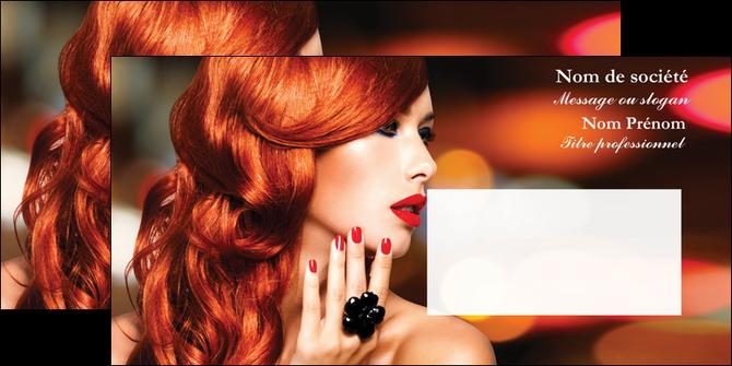 imprimer enveloppe centre esthetique  coiffure coiffeur coiffeuse MLGI28039